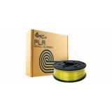 Пластик PLA (сменная катушка для картриджа) для da Vinci, Clear Yellow (желтый), 1,75 мм/600гр
