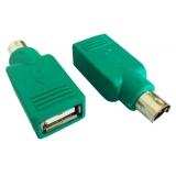 Переходник клавиатуры USB/PS/2 (AF/6M)