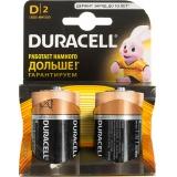 Элемент питания Duracell Basic LR20-2BL MN1300 D (2шт. уп)