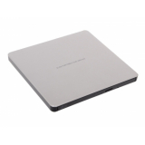 Привод DVD+RW&CD-RW ext LG GP60NS60 серебристый/черный USB ultra slim внешний RTL