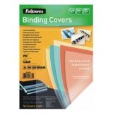 Обложки для переплёта Fellowes A4 прозрачный (100шт) CRC-5376102 (FS-53761)