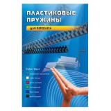 Пружины для переплета пластиковые Office Kit d=8мм 31-50лист A4 черный (100шт) BP2010(BP2010)
