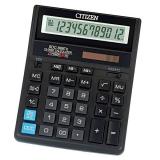 Калькулятор бухгалтерский Citizen SDC-888TII черный 12-разрядный 2-е питание, 00, MII, mark up, A0234F