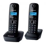 Телефон Panasonic KX-TG1612RUH радио Dect 2 трубки