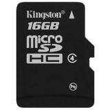 Карта памяти microSD 16Gb Kingston Class 4 без адаптера (SDC4/16GBSP)