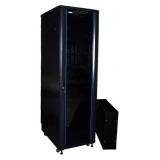 """Шкаф TWT (TWT-CBB-42U-8x8-00) 19"""" Business. 42U 800x800. без дверей. с боковыми стенками. черный"""