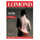 Бумага Lomond A4 10л для нанесения временных татуировок (2010440)