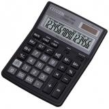 Калькулятор бухгалтерский Citizen SDC-395N черный 16-разр. 2-е питание, 000, 00, TAX, mark up, GT, A0234F