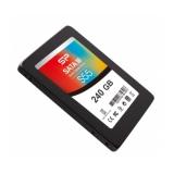 """Жесткий диск SSD 2.5"""" SATA III 240Gb Silicon Power S55 (7 мм, TLC, R540Mb/W510Mb, R43K IOPS/W24K IOPS) (SP240GBSS3S55S25)"""