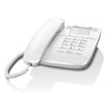 Телефон проводной Gigaset DA410 белый(DA410 WHITE)