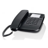 Телефон проводной Gigaset DA510 черный(DA510)
