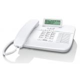 Телефон проводной Gigaset DA710 белый(DA710 WHITE)