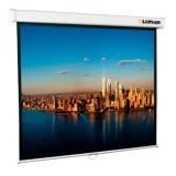 Экран настенный Lumien Master Picture 203х203 см Matte White FiberGlass (белый корпус) черн. кайма по периметру, возможность потолочн. крепления (LMP-100104)
