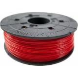 Пластик ABS на катушке в картридже, red (красный), 1,75 мм/600гр