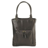 "Сумка для ноутбука HP 15.6"" Elite Designer Tote натур.кожа, темно-коричневая, с карманом, женская (H0N04AA)"