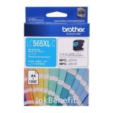 Картридж Brother LC565XLC голубой для MFC-J2510/2310