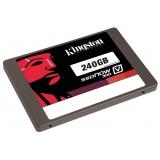 "Жесткий диск SSD 2.5"" SATA III 240Gb Kingston SSDNow V300 (7 мм, MLC, R450Mb/W450Mb, R85K IOPS/W43K IOPS, 1M MTBF) (SV300S3N7A/240G)"