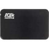"Корпус внешний для HDD 2.5"" AgeStar 3UB2A8-6G SATA USB 3.0 Black"