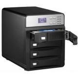"""Корпус внешний для HDD 3.5"""" AgeStar 3C4B3A1 SATA II алюминий черный LCD (3C4B3A1 (BLACK))"""
