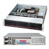 "Корпус SuperMicro CSE-216E26-R1200LPB 2U/24x2.5""SAS/SATA/2x1200W/Rail"