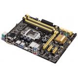 Материнская плата ASUS B85M-G (RTL) S-1150 B85 4xDDR3 PCI-E x16/2xPCI-E x1 2xSATA II/4xSATA III 2xPS/2/D-sub/DVI-D/HDMI/4xUSB 2.0/2xUSB 3.0/GLAN/3 audio jacks mATX