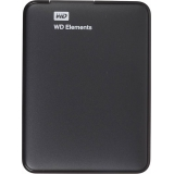 "Жесткий диск внешний 2.5"" 1Tb WD (USB 3.0) Elements Portable Black (WDBUZG0010BBK-WESN)"