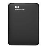 "Жесткий диск внешний 2.5"" 500Gb WD (USB 3.0) WDBUZG5000ABK Elements Portable Black"