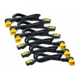 Кабель APC AP8706S-WW Power Cord Kit (6шт) Locking C13 to C14 1.8m