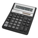 Калькулятор бухгалтерский Citizen SDC-888XBK черный 12-разрядный 2-е питание, 00, MII, mark up, A0234F
