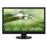 """Монитор-ЖК 24"""" ViewSonic VA2445-LED TN 1920*1080 5мс DVI VGA Glossy-Black"""