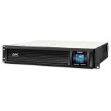 Источник бесперебойного питания APC Smart-UPS SMC1000I-2U 1000VA черный Входной 230V/Выход 230V USB 2U LCD(SMC1000I-2U)