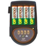Зарядное устройство GP PB50GS + 4ак. AA2700mAh + провод авто (мпроц/откл) (GPPB50GS270CA-2CR4)