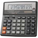Калькулятор бухгалтерский Citizen SDC-640II черный 14-разр. 2-е питание, 000, 00, MII, mark up, A023F