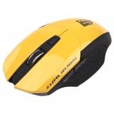 Мышь Jet.A Comfort OM-U38G беспроводная желтая (1200/1600/2000dpi) 5 кнопок USB