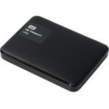 """Жесткий диск внешний 2.5"""" 1Tb WD (USB3.0) WDBDDE0010BBK-EEUE My Passport Ultra черный"""