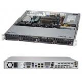 "Серверная платформа SuperMicro SYS-5018D-MTLN4F 1CPU max (S-1150)/1U/4*DDR3 (up to 32Gb)/4x3.5"" Hot-swap SATA HDDs/1(1) 350W Gold PS"
