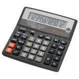 Калькулятор бухгалтерский Citizen SDC-620II черный 12-разрядный 2-е питание, 00, TAX, mark up, GT, A023F