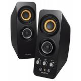 Колонки Creative T30 Wireless (2.0) 2x14Вт, пластик, черные, Bluetooth