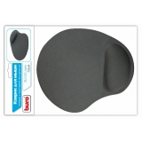 Коврик для мыши Buro гелевый, с подставкой под запястье, 230x205x25 мм, одноцветный, в ассортименте (BU-GEL)