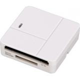 Кардридер памяти USB2.0 Hama H-94125 белый(00094125)