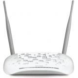 Маршрутизатор TP-Link TD-W8968 802.11n/b/g 300Mbps, 3x10/100 LAN, 1x10/100 LAN/WAN, 1xRJ11 WAN, 1xUSB 2.0 (сервер печати, подключение внешнего носителя, 3G-модема), ADSL/ADSL2/ADSL2+, Annex A, две внешние антенны