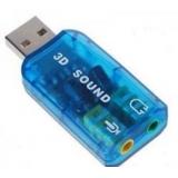 Звуковая карта USB TRUA3D (C-Media CM108) 2.0 Ret(ASIA USB 6C V)