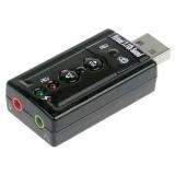 Звуковая карта USB TRUA71 C-Media CM108 2.0 channel volume control (7.1 virtual channel)