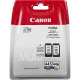 картридж canon pg-445 + cl-446 для pixma mg2440/2540 (комплект)