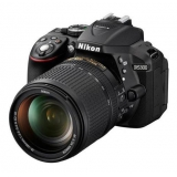 "Зеркальный Фотоаппарат Nikon D5300 черный 24.2Mpix AF-S DX NIKKOR 18-140mm f/3.5-5.6G ED VR 3"" 1080p Full HD SDXC Li-ion(VBA370K002)"