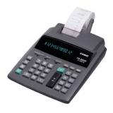 Калькулятор печатающий Casio FR-2650T 12 разрядов серый двуцветная печать 2.4 стр/с питание от сети