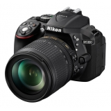 "фотоаппарат NIKON D5300 Kit 18-105VR Black 24.2 Mpix/CMOS/Full HD/SDHC/Wi-Fi/GPS/3"""