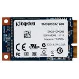Жесткий диск SSD mSATA III 120Gb Kingston mS200 (MLC, R550Mb/W520Mb, R86K IOPS/W48K IOPS, 1M MTBF) (SMS200S3/120G)