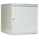 """Шкаф 19"""" настенный 12U 600x480, дверь металл, сварной, серый (ЦМО ШРН-12.480.1)"""
