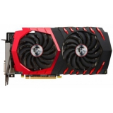 Видеоадаптер PCI-E MSI GeForce GTX1050 Ti 4096Mb GTX 1050 TI GAMING X 4G (RTL) GDDR5 128bit DVI-D/HDMI/DP